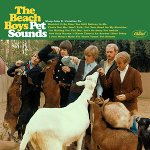 The Beach Boys: Pet Sounds album cover