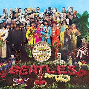 The Beatles: Sgt. Pepper's Lonely Hearts Club Band album cover