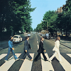 "The Beatles' ""Abbey Road"" album cover"