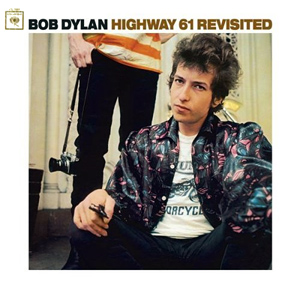 "Bob Dylan's ""Highway 61 Revisited"" album cover"
