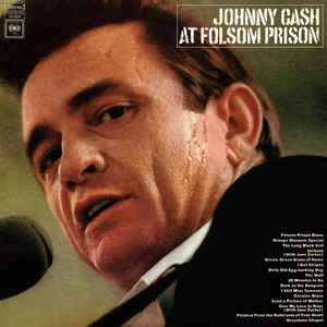 Johnny Cash at Folsom Prison album cover