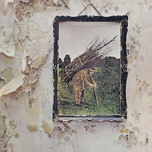 Led Zepplin 4 album cover