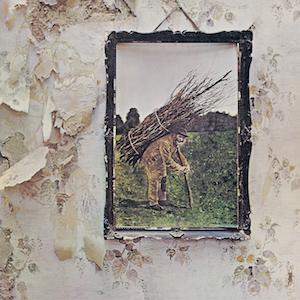 Led Zepplin 4 album cover