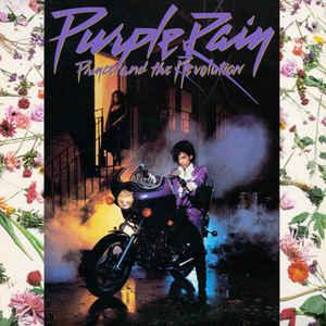 Prince Purple Rain album cover