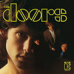 Album cover for The Doors' self-titled debut album