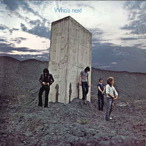 "The Who's ""Who's Next"" album cover"