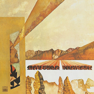 Stevie Wonder: Innervisions album cover