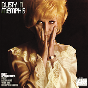Album cover for Dusty in Memphis