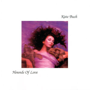Album cover for Kate Bush Hounds of Love