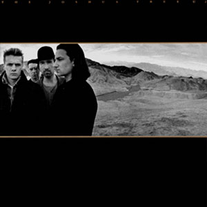 "Album cover for U2's ""Joshua Tree"""