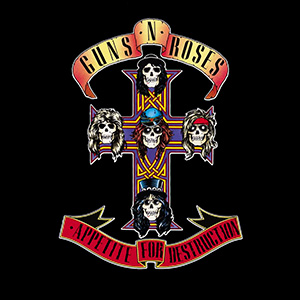 Album cover for Appetite for Destruction