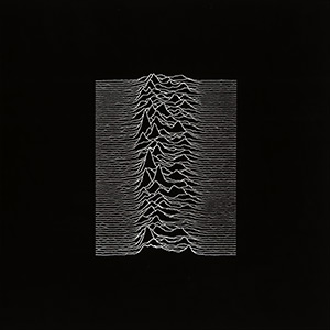 "album cover for ""Unknown Pleasures"""
