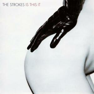 "Album cover for The Strokes' ""Is This It"""