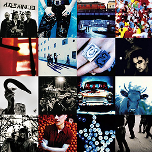 "Album Cover for U2's ""Achtung Baby"""