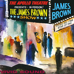 Album cover for Live At The Apollo
