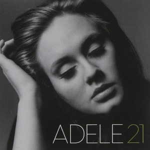 Cover for Adele's album 21