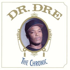 cover for Dr. Dr's album The Chronic